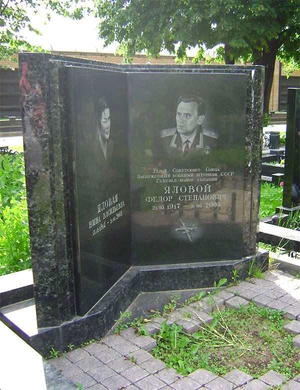 Герой Советского Союза Яловой Фёдор Степанович :: Герои страны